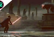 Kylo Ren and Space Wolves Concept Art