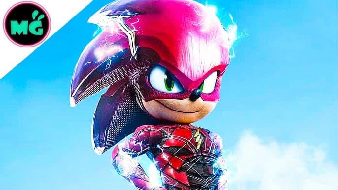 Sonic the Hedgehog as Flash