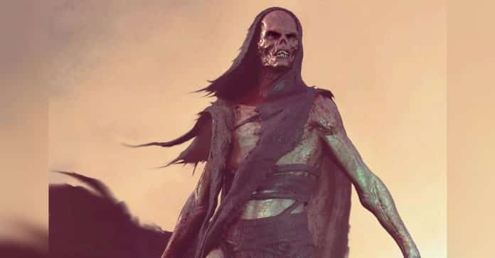 Infinity War Red Skull Concept Art