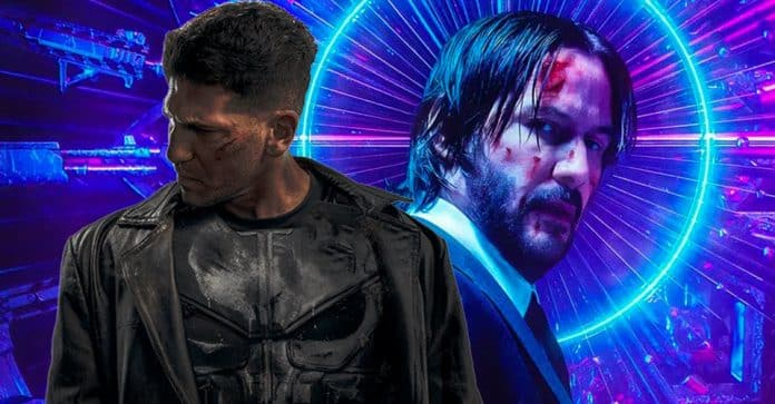 The Punisher and John Wick