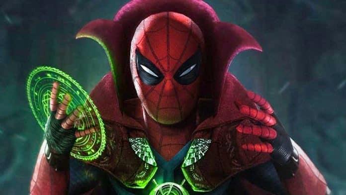 Spider-Man as Dr. Strange