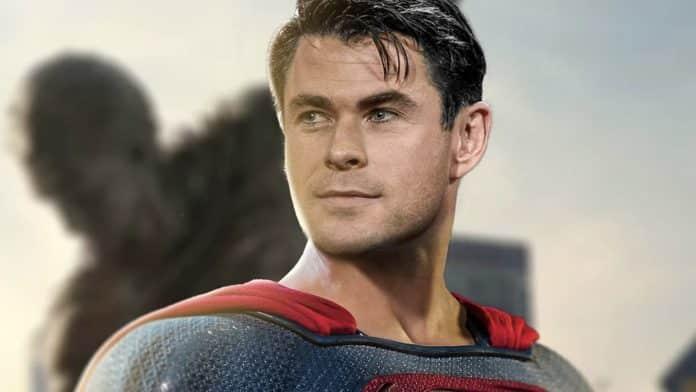 Chris Hemsworth as Superman