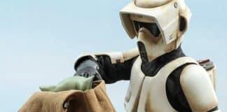 The Mandalorian Scout Trooper Figure
