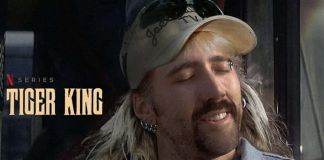 Nicholas Cage as Joe Exotic