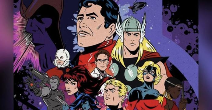 Avengers Endgame Classic Poster