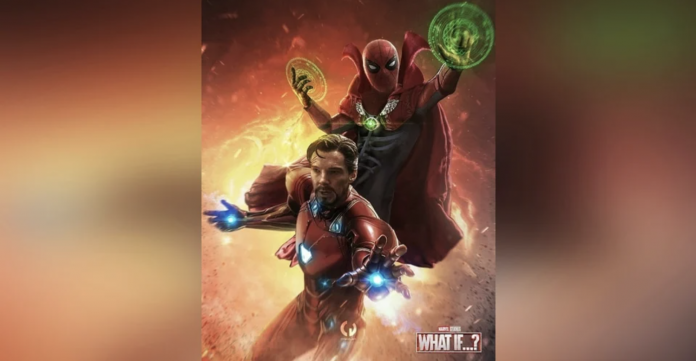 Spider-Strange and Doctor Iron Man