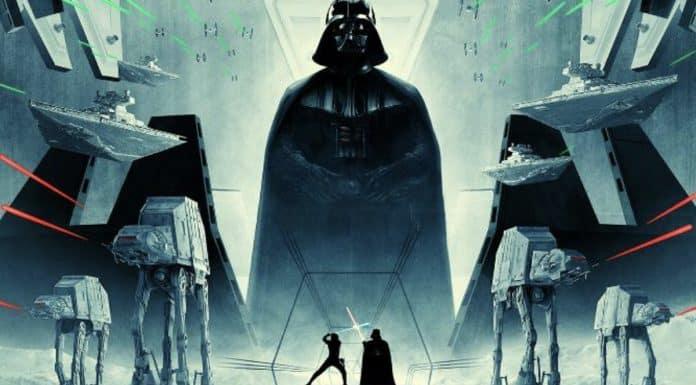 Empire Strikes Back 40th Anniversary Poster
