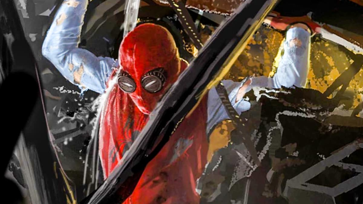 Check Out This Spider-Man: Homecoming Concept Art Inspired by ...