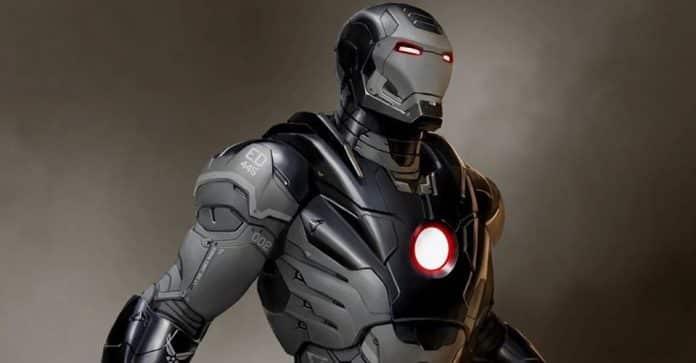 War Machine Concept Art From Iron Man 3