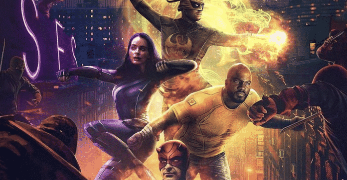 The Defenders Fan Art