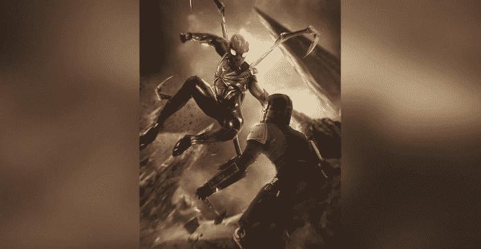 Spider-Man Vs The Mandalorian