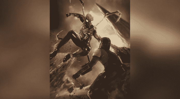 Spider-Man Vs The Mandalorian