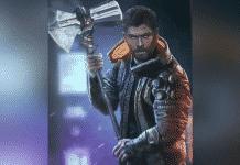 Cyberpunk Thor