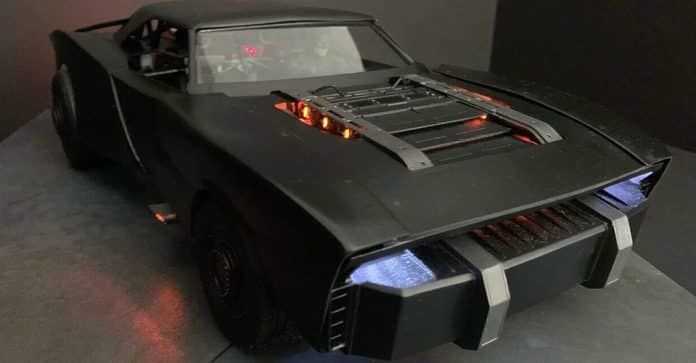 The Batman Batmobile Concept Art