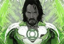 Keanu Reeves' John Wick as Green Lantern
