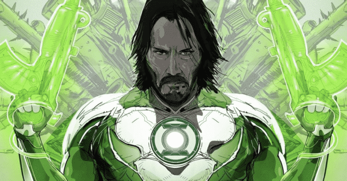 Keanu Reeves' John Wick as Green Lantern