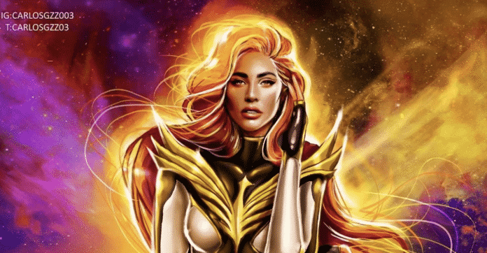 Lady Gaga as White Phoenix