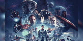 Avengers Infinity War and Endgame Combined Poster