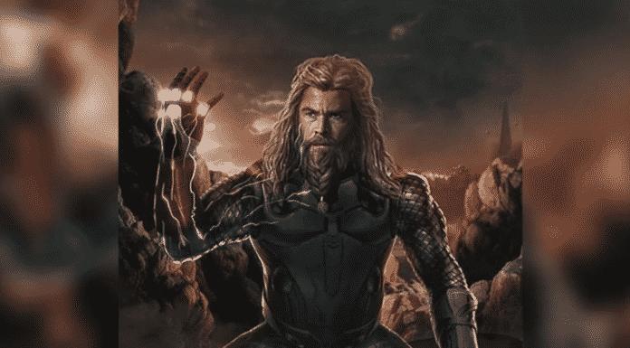Thor Does The Snap In Avengers: Endgame Fan Art
