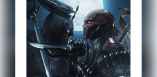 Batman Vs Deathstroke Fan Art