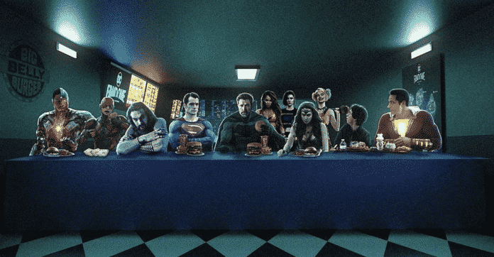 Justice League The Last Supper