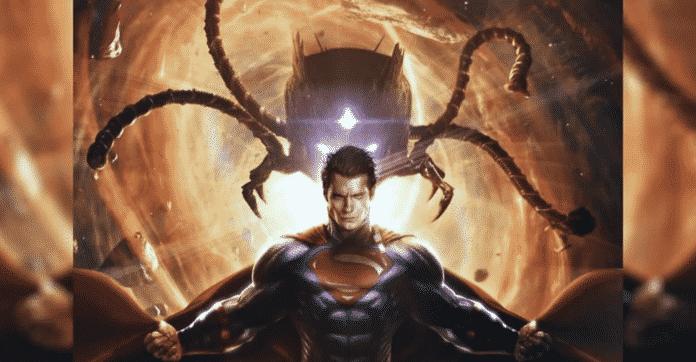 Henry Cavill's Superman Battles Brainiac
