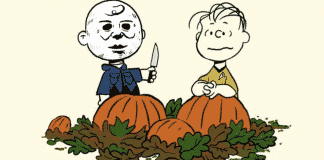 Charlie Brown as Michael Myers