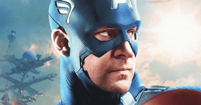 John Krasinki as Captain America