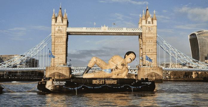 Borat 2 Naked Inflatable
