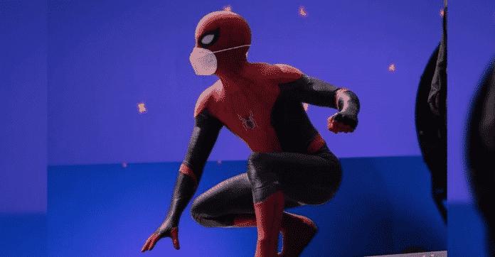 Tom Holland in Spider-Man 3