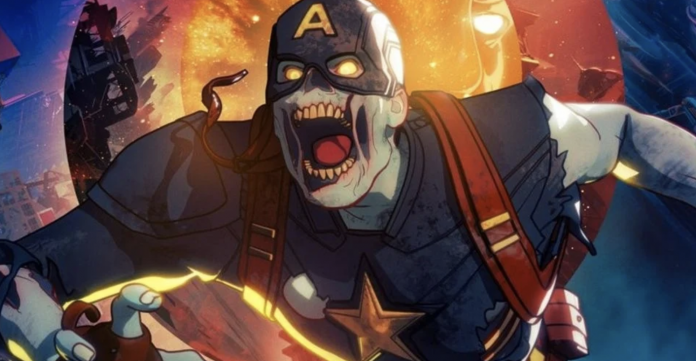 Zombie Captain America What If Poster